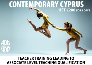 5 Day Contemporary Dance Teacher Training in CYPRUS 2019