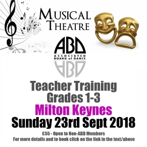 Musical Theatre Teacher Training Course Grades 1-2-3
