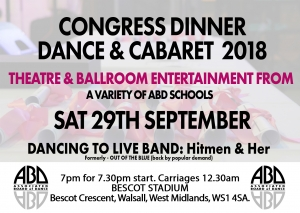 Congress Dinner & Dance 2018